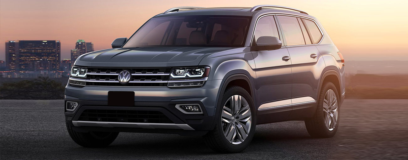 Right side of the 2018 Volkswagen Atlas
