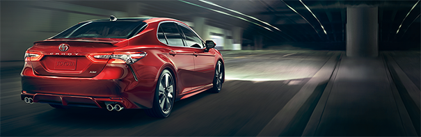 Features of the 2018 Camry at Toyota of Tampa Bay serving Tampa, Brandon, and Wesley Chapel