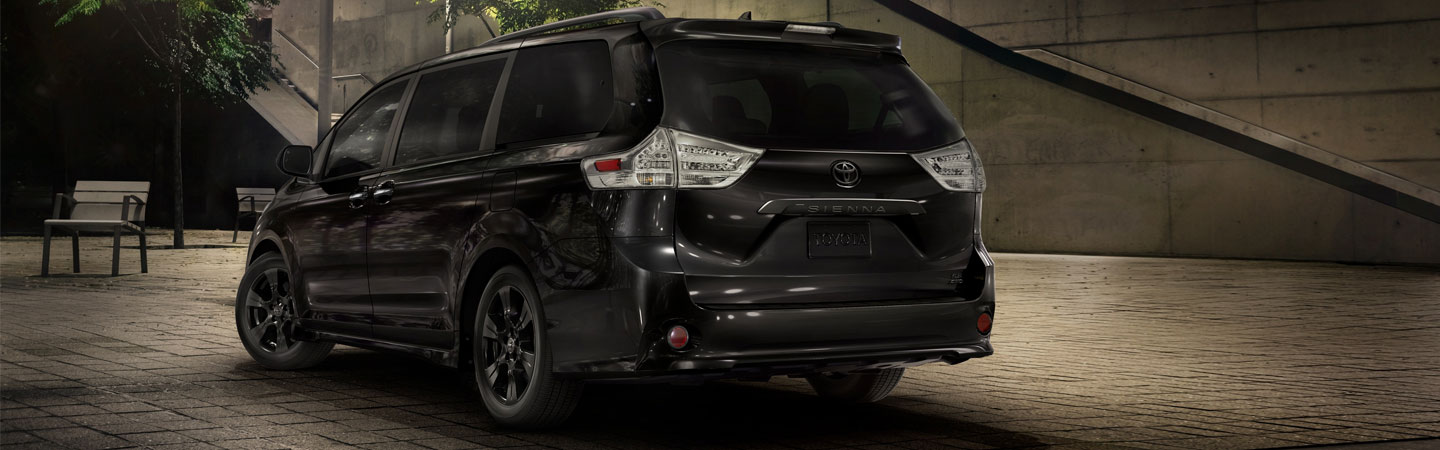 Exterior of the 2020 Toyota Sienna at our Toyota dealer in Columbus, GA