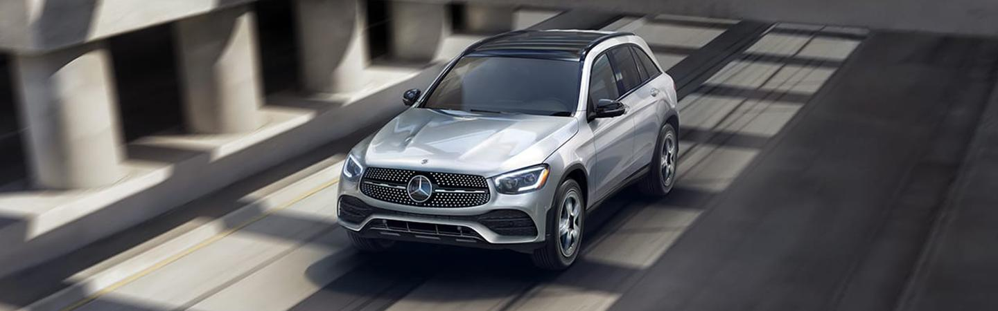 2020 Mercedes-Benz GLC in motion