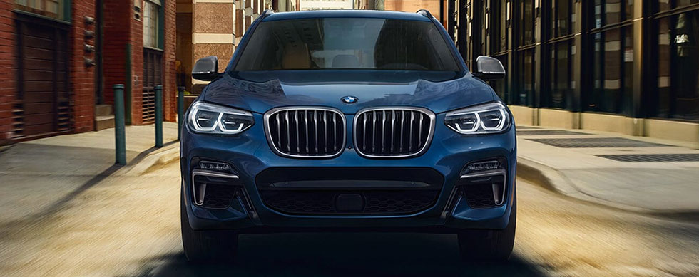 Exterior of the 2019 BMW X3 at BMW of Columbia.