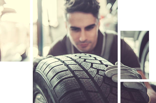Image of INFINITI Tire Service and Replacement technician at your local INFINITI Dealer in Oklahoma City