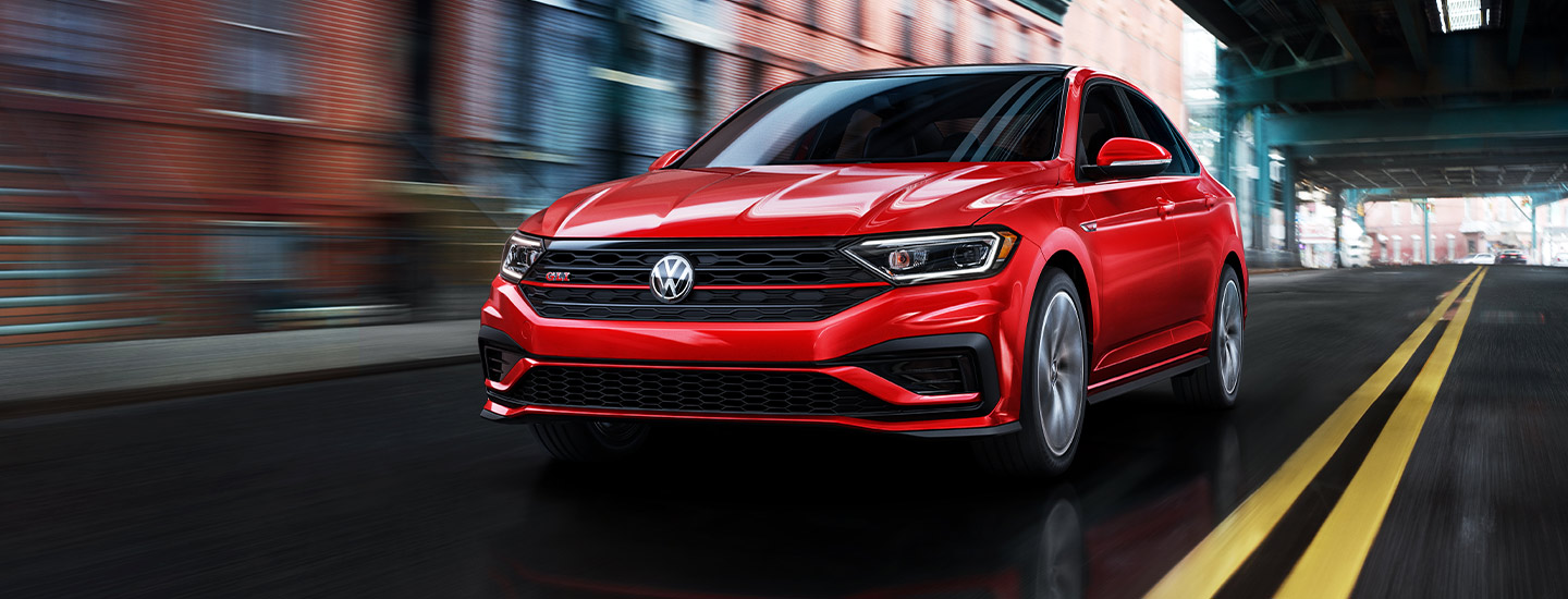 2019 Volkswagen Jetta GLI - Red - Exterior - Driving on the Road
