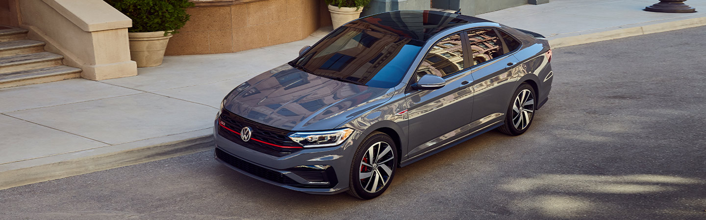2019 Volkswagen Jetta GLI - Gray - Roof View - Parked