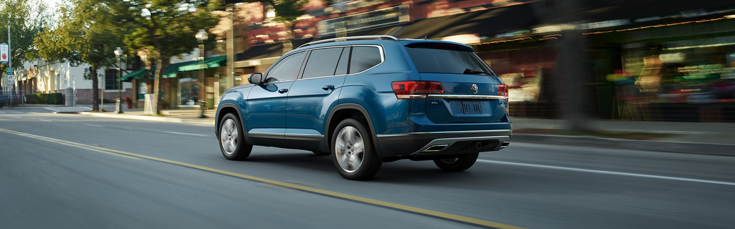 2019 Volkswagen Atlas in motion near Volkswagen of Gainesville