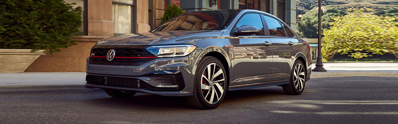 2019 Volkswagen Jetta GLI - Gray - Side View Parked