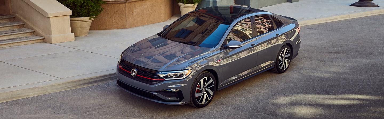 2019 Volkswagen Jetta GLI - Gray - Roof View Parked