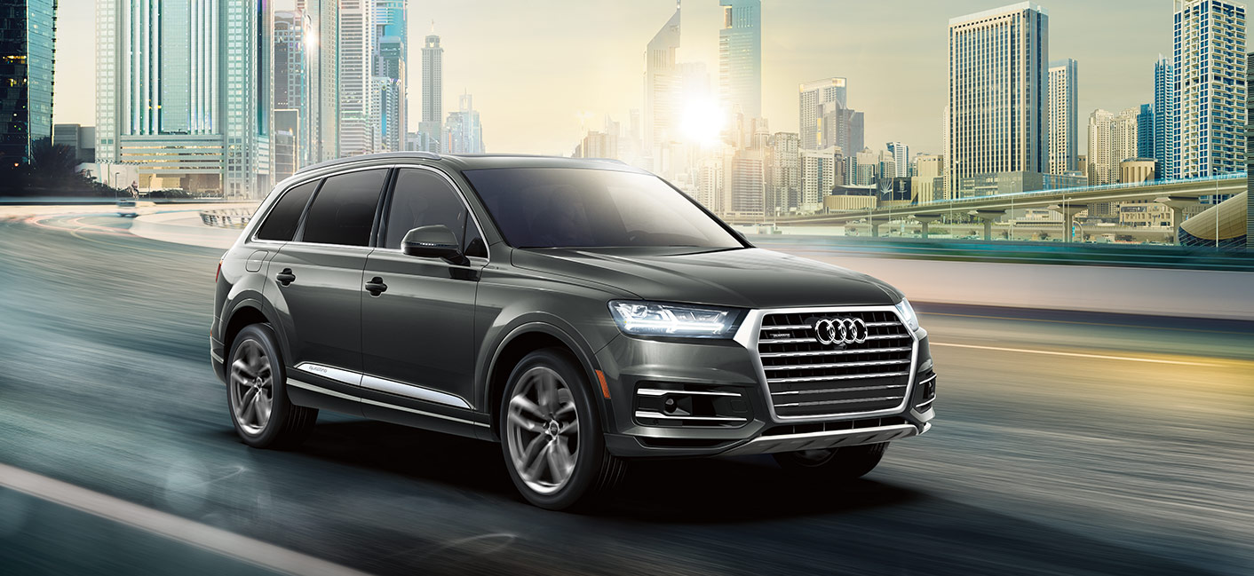 The 2018 Audi Q7 and Audi Q5 at Audi Clearwater near Tampa, FL