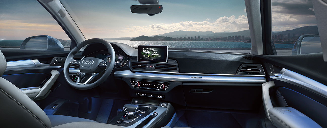 Safety features and interior of the 2018 Audi Q5 and Audi Q7 - available at our Audi Dealership near Tampa, FL