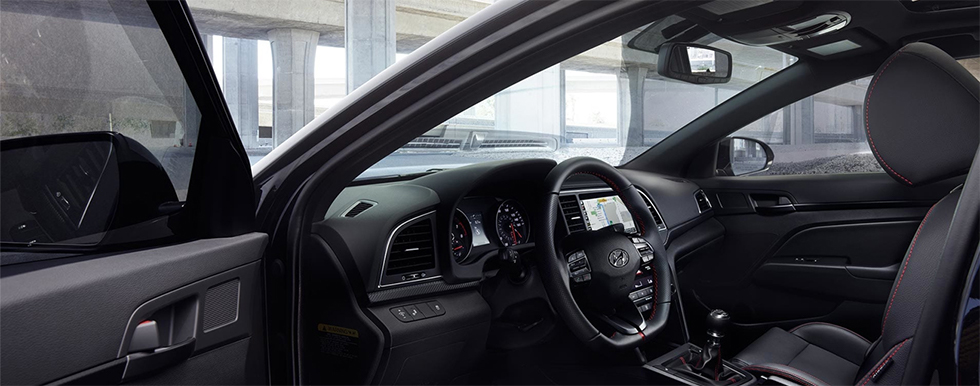 Safety features and interior of the 2018 Hyundai Sonata - available at our Hyundai dealership near Philadelphia, PA.