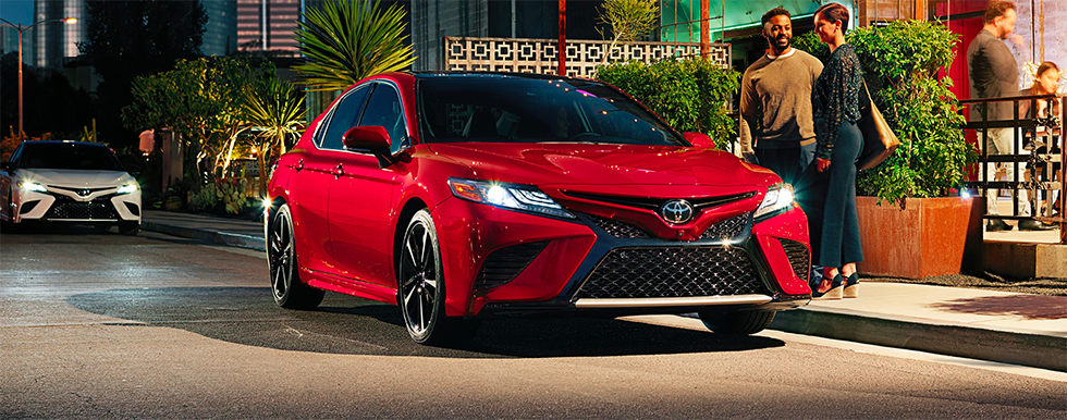 Discover new features of the 2019 Toyota Camry at our Toyota dealership near Fort Lauderdale, FL.