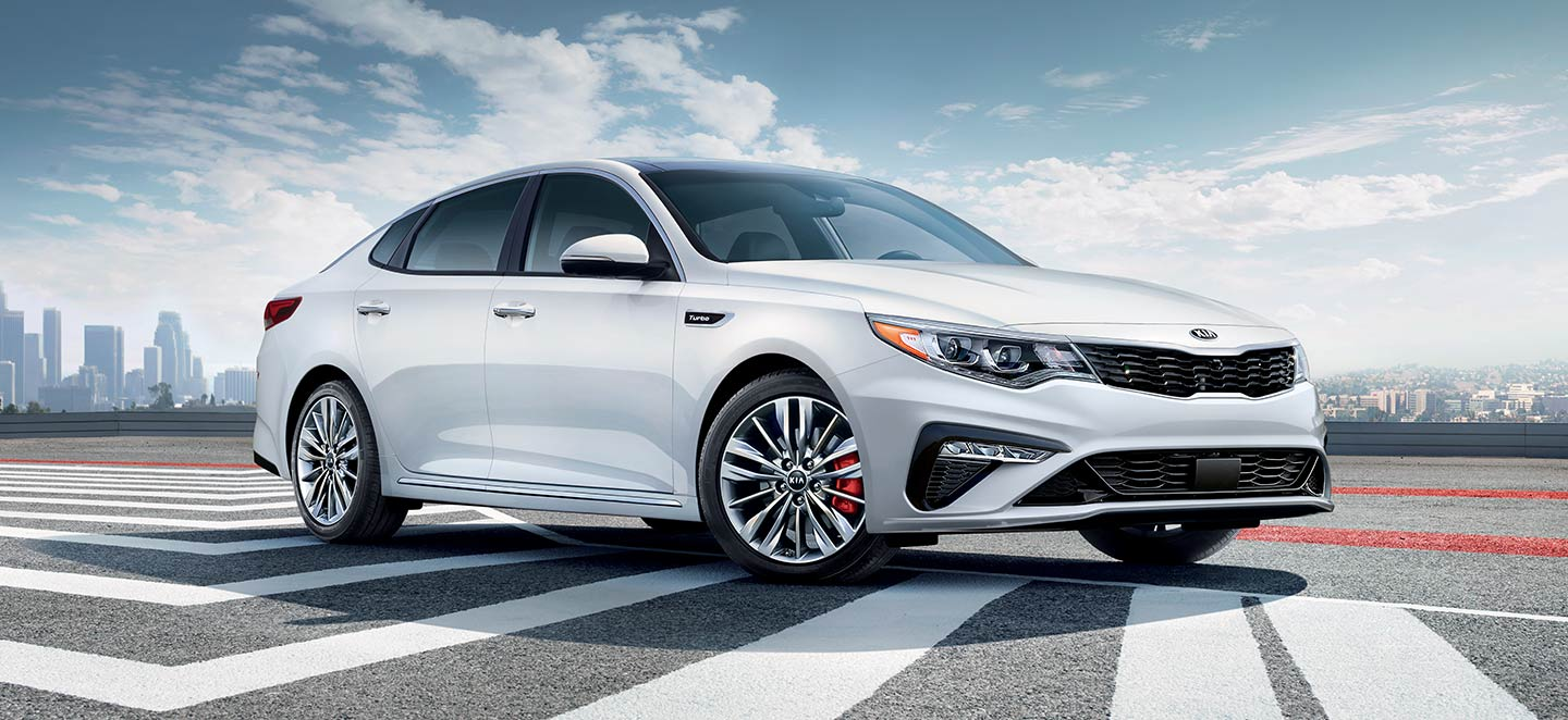 The 2019 Kia Optima is available at our Kia dealership in Oklahoma City, OK