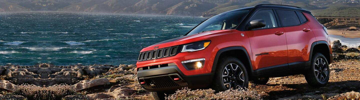 2020 Jeep Compass for lease at Spitzer Jeep dealer in Ontario Ohio