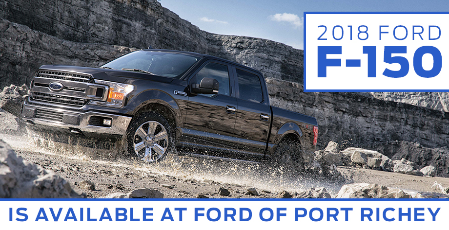 The 2018 Ford F-150 is available at Ford Of Port Richey near Trinity FL