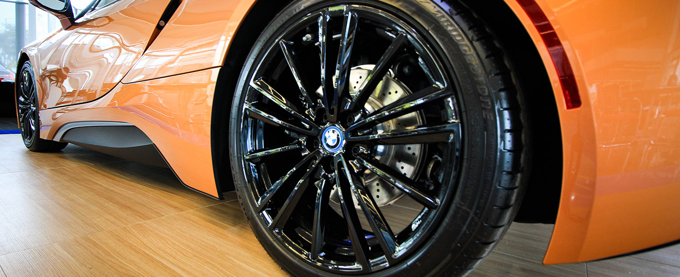 BMW i8 Wheel at South Motors BMW in Miami