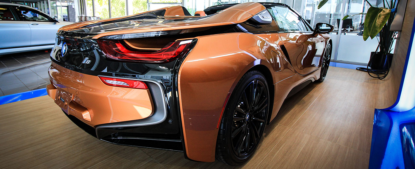 The 2019 BMW i8 is available at South BMW near Miami, FL