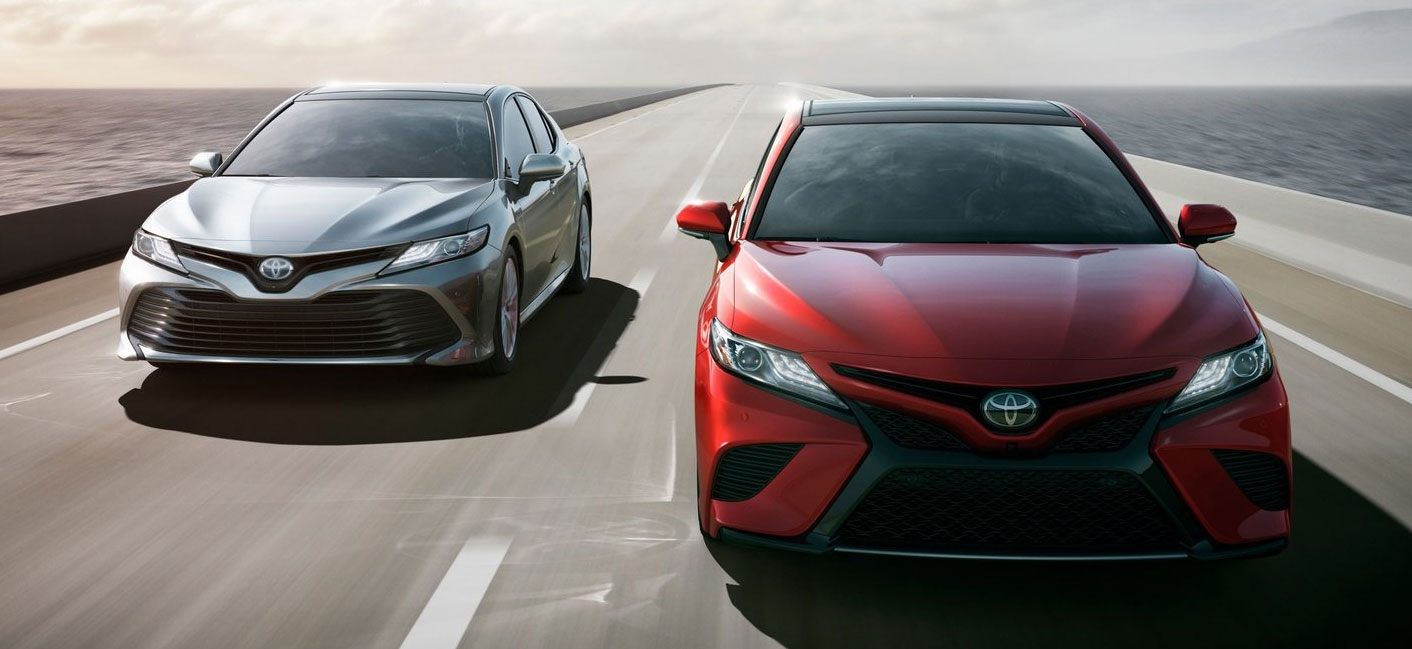 Compare the 2018 Toyota Camry and the 2018 Honda Accord at our Toyota dealership in Columbus, GA