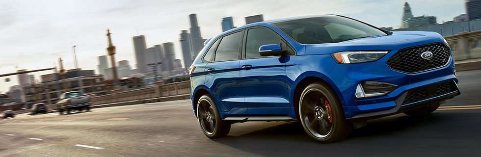 Exterior Of The  Ford Edge Available At Our Ford Dealership Near Marietta Ga