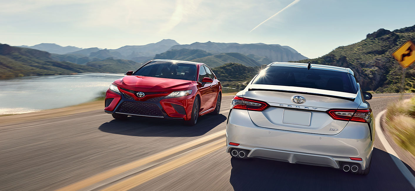 The 2019 Toyota Camry is available at our Toyota dealership in Rock Hill, SC