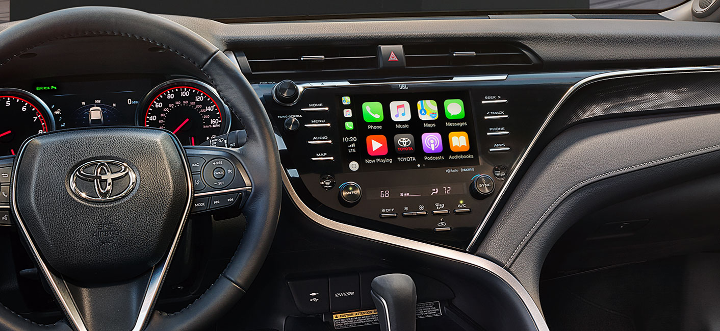 Learn how to use the Apple CarPlay feature in the 2019 Toyota Camry at our Toyota dealership