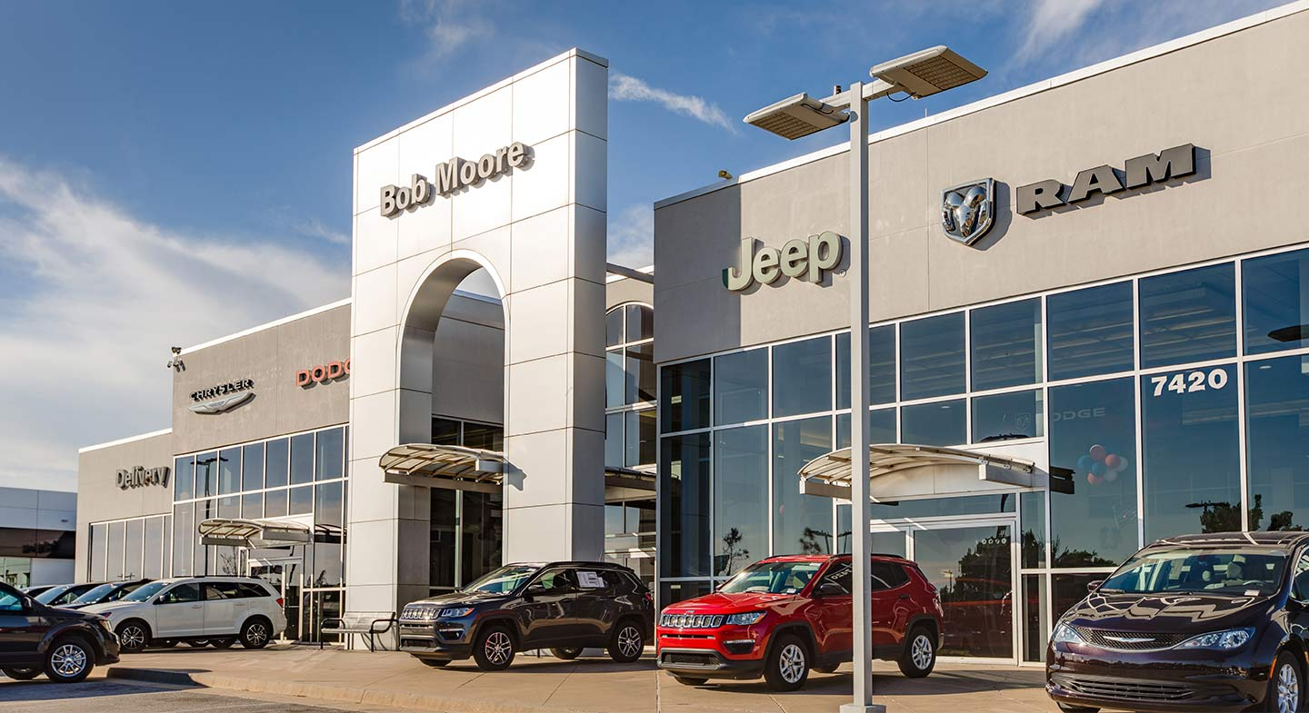 Jeep Dealership Okc >> About Us | Bob Moore Chrysler Dodge Jeep RAM in OKC