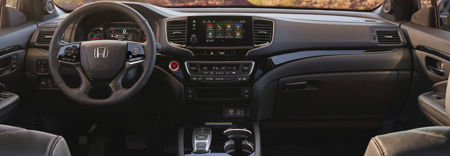 Safety features and interior of the 2019 Honda Passport - available at our Honda dealership near Gainesville, FL..