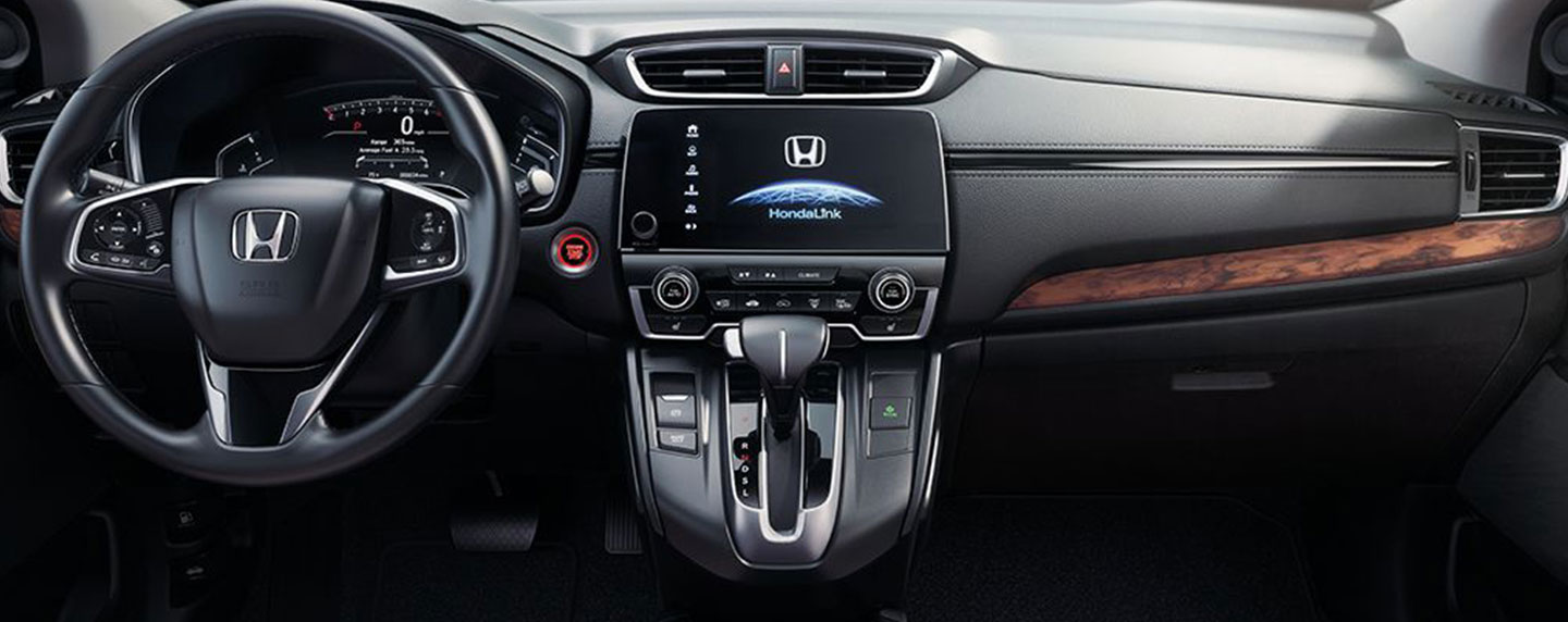 Safety features and interior of the 2018 Honda CR-V - available at South Honda in Miami, FL