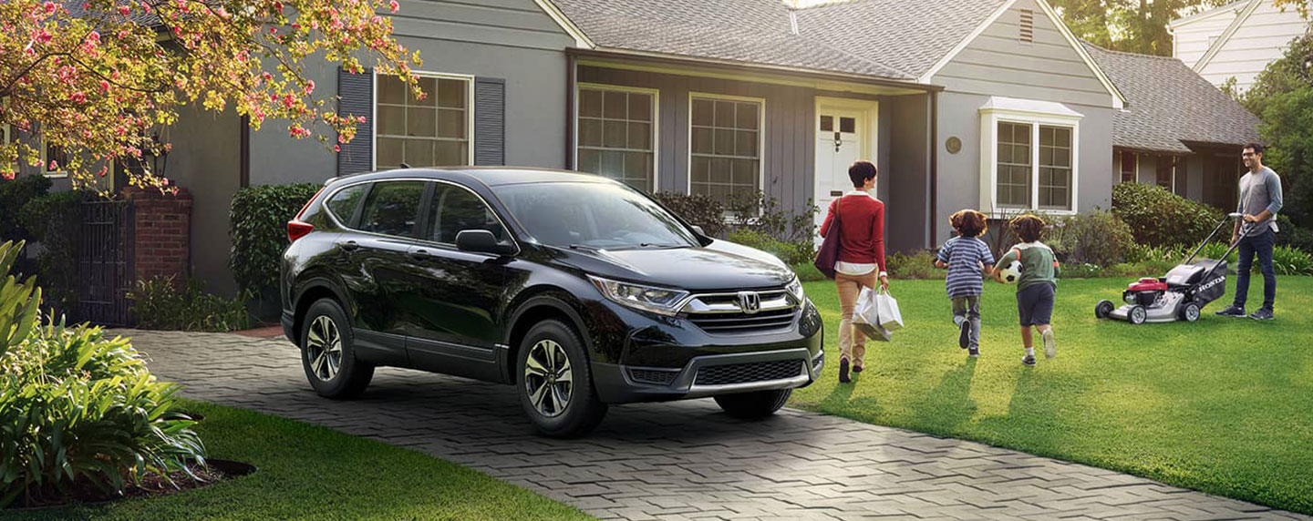 2018 Honda CR-V parked in a driveway