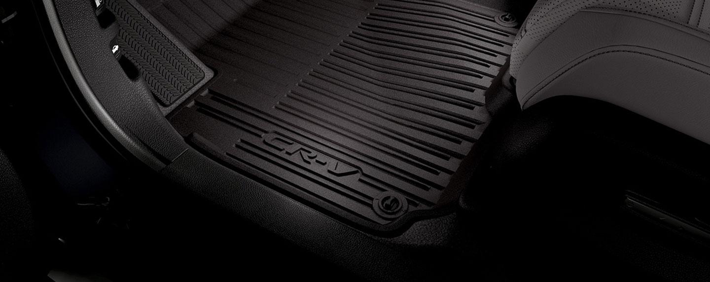 Floor mat in the 2018 Honda CR-V