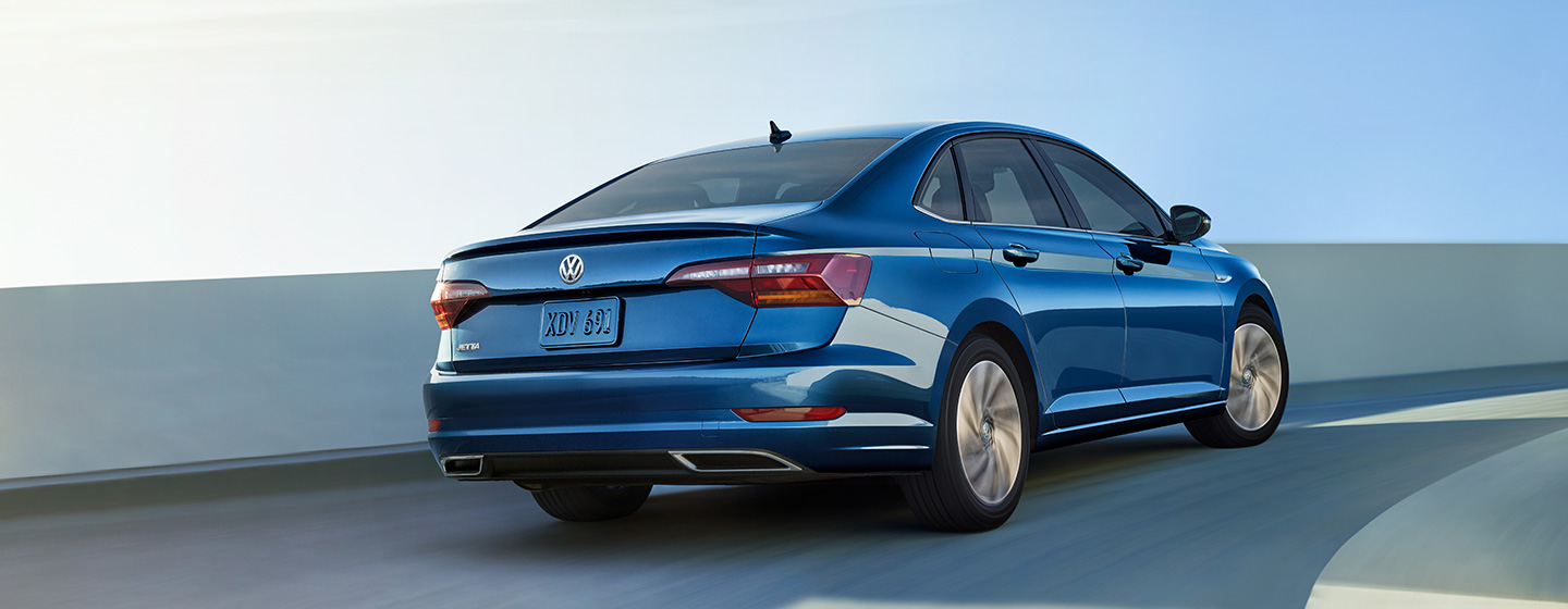 2019 Jetta S Back Exterior View
