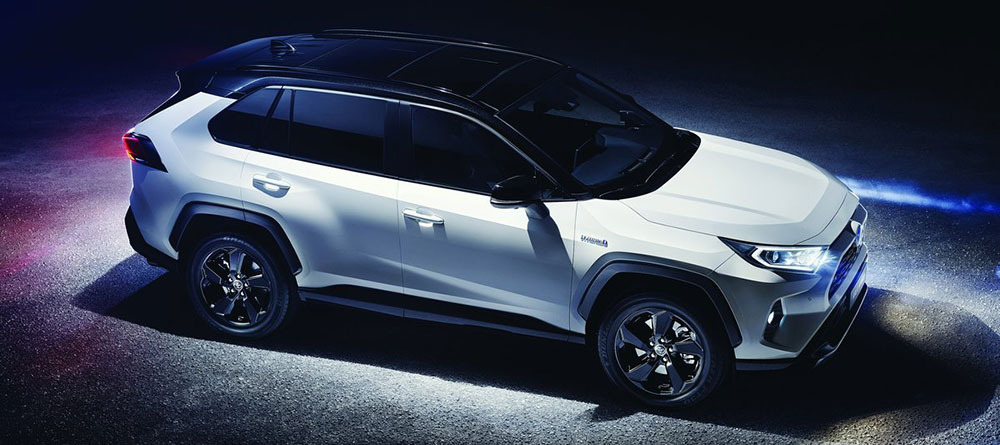 The 2019 Toyota RAV4 is available at Rivertown Toyota in Columbus, GA.