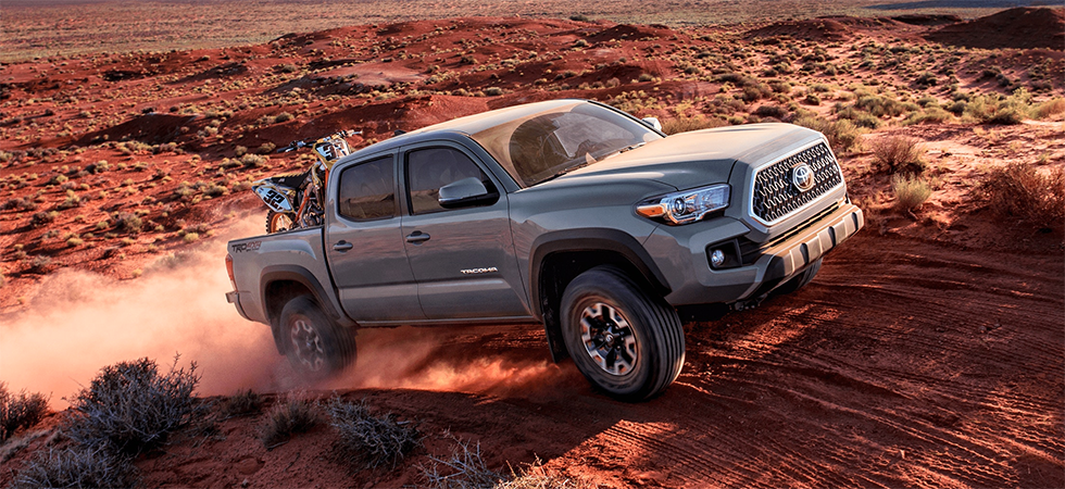The 2019 Toyota Tacoma is available at our Toyota dealership near Charlotte, NC.