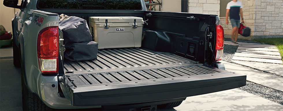 2019 Toyota Tacoma - showcasing ample trunk space