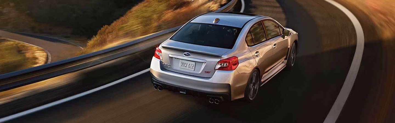 2020 Subaru WRX in motion