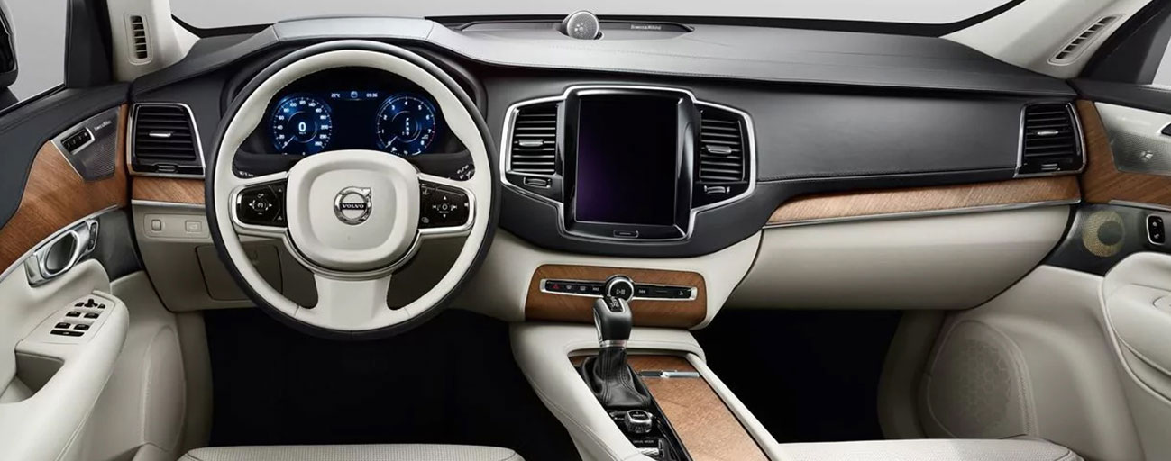 Safety features and interior of the 2019 Volvo XC90 - available at our Volvo dealership near Tampa, FL.