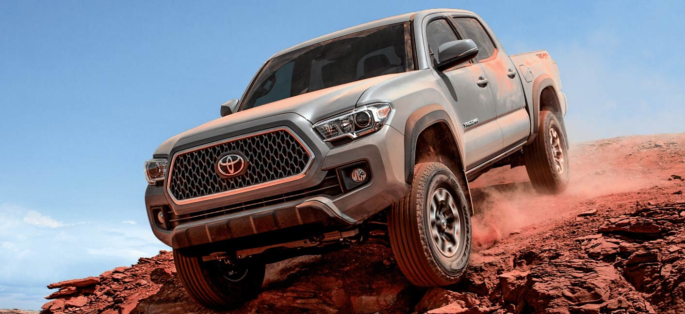 The 2019 Toyota Tacoma is available at our Toyota dealership near Charlotte, NC