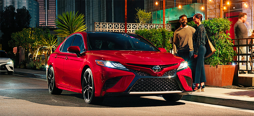 The 2019 Toyota Camry is available at our World Toyota dealership in Atlanta, GA.