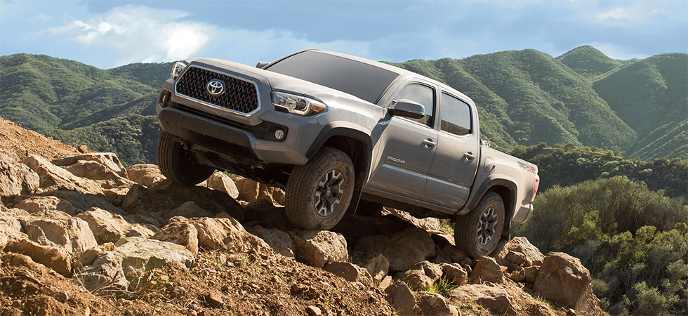The 2019 Toyota Tacoma is available at our Toyota dealership near Chester, SC