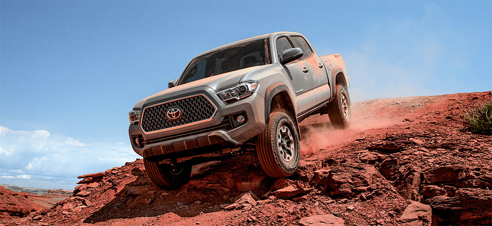 Exterior of the 2019 Toyota Tacoma - available at our Toyota dealership near Chester, SC