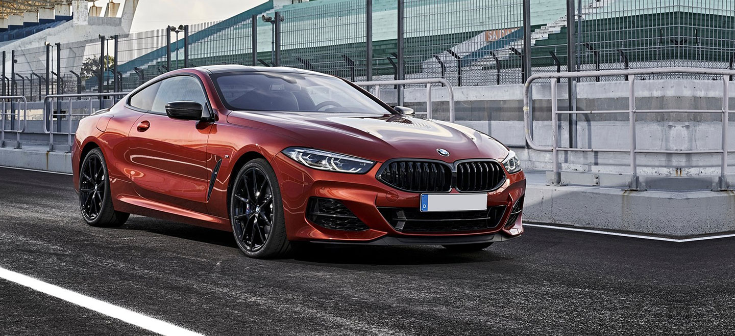 Exterior image of the 2019 BMW 8 Series at BMW of Columbia