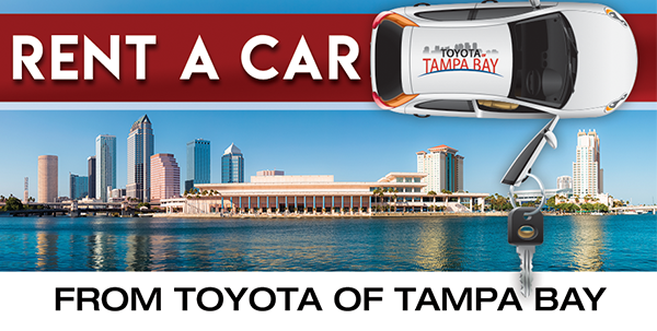 Toyota Rent A Car Program (TRAC) | Toyota of Tampa Bay | Florida