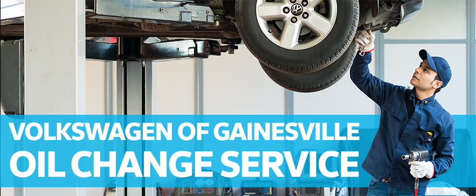 Oil Change Service is available at our Volkswagen dealership in Gainesville, FL.