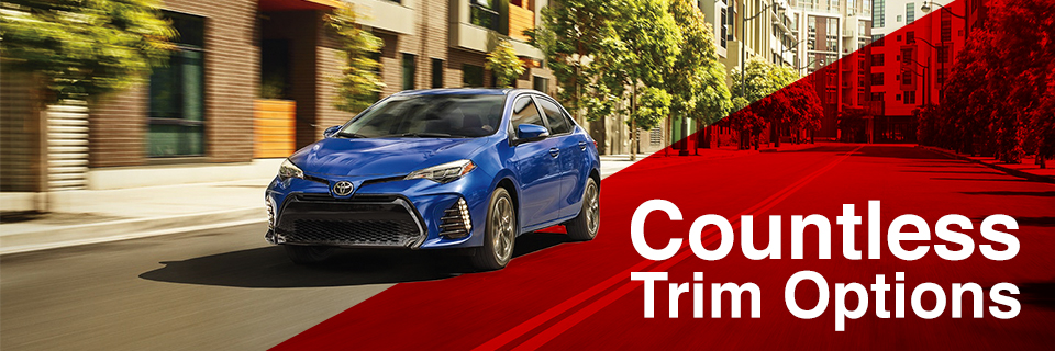 The 2018 Corolla is available at Toyota of Tampa Bay near Tampa
