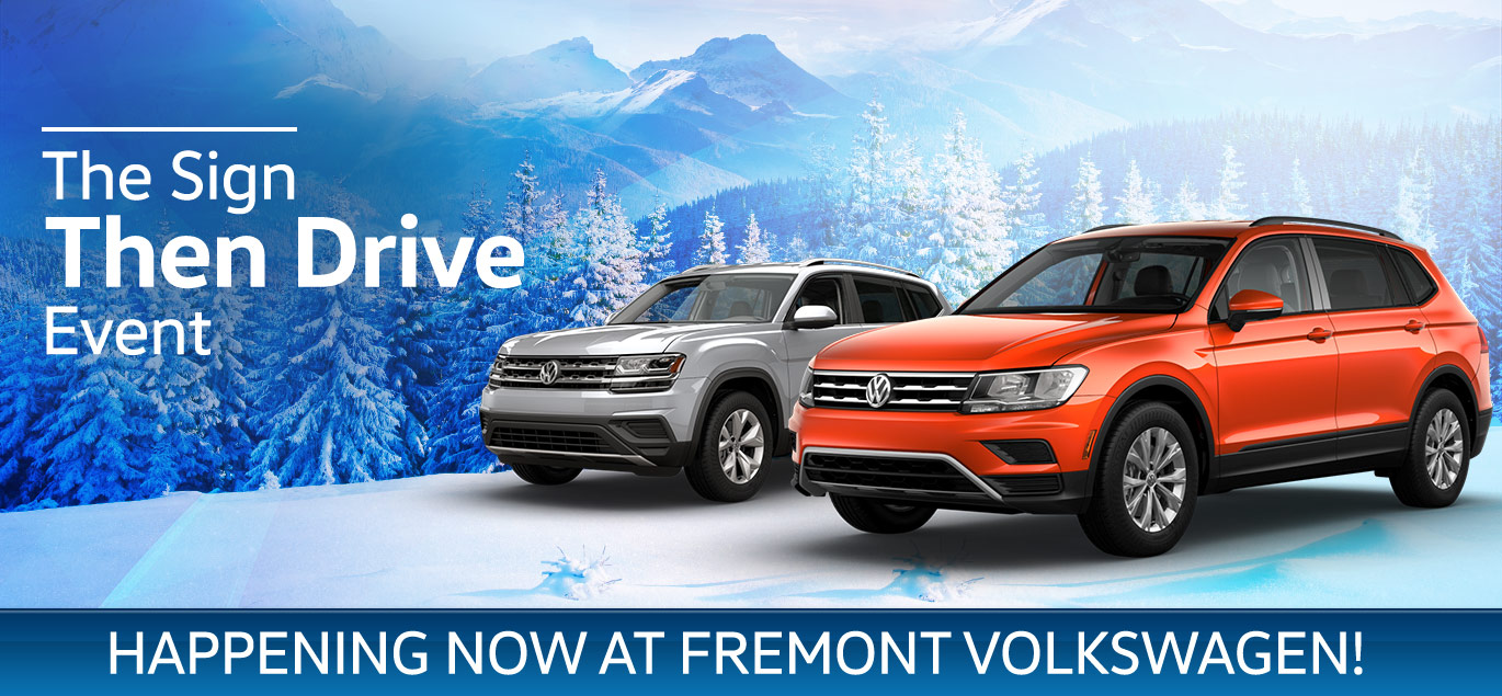 volkswagen sign then drive event | fremont motor company