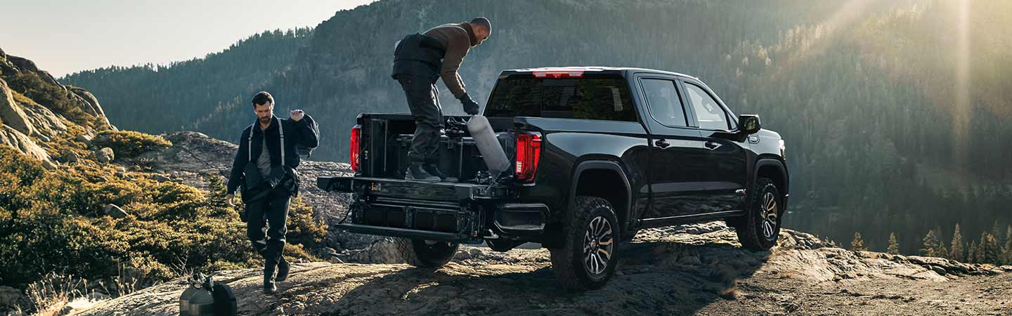 Truck bed of the 2020 GMC Sierra