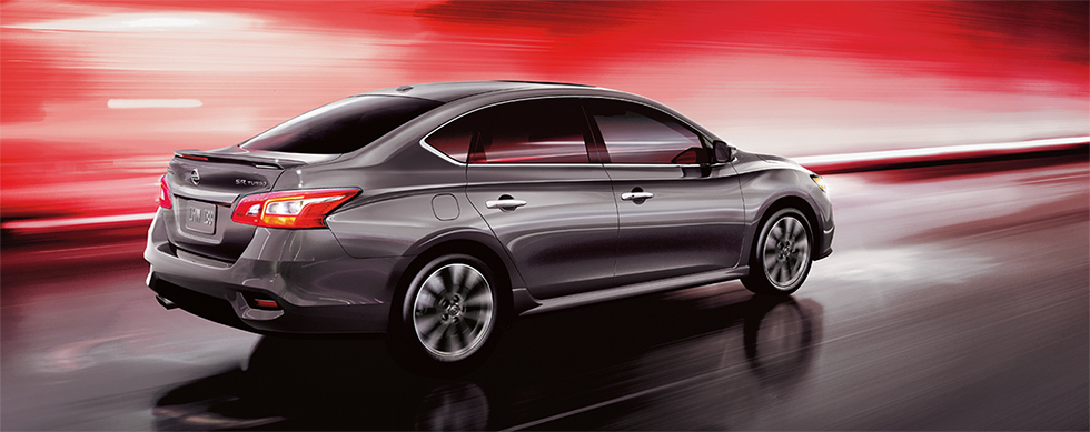 Exterior of the 2019 Nissan Sentra - available at our Nissan dealership in Flagstaff, AZ.