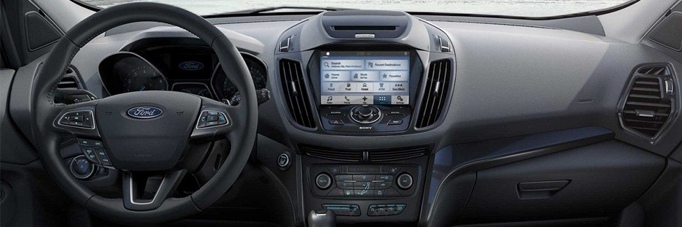 Safety features and interior of the 2018 Ford Escape - available at Al Packer's White Marsh Ford near Baltimore and White Marsh, MD