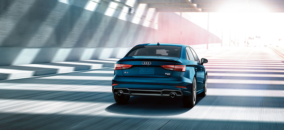 The 2018 Audi A3 is available at our Audi dealership in Honolulu.