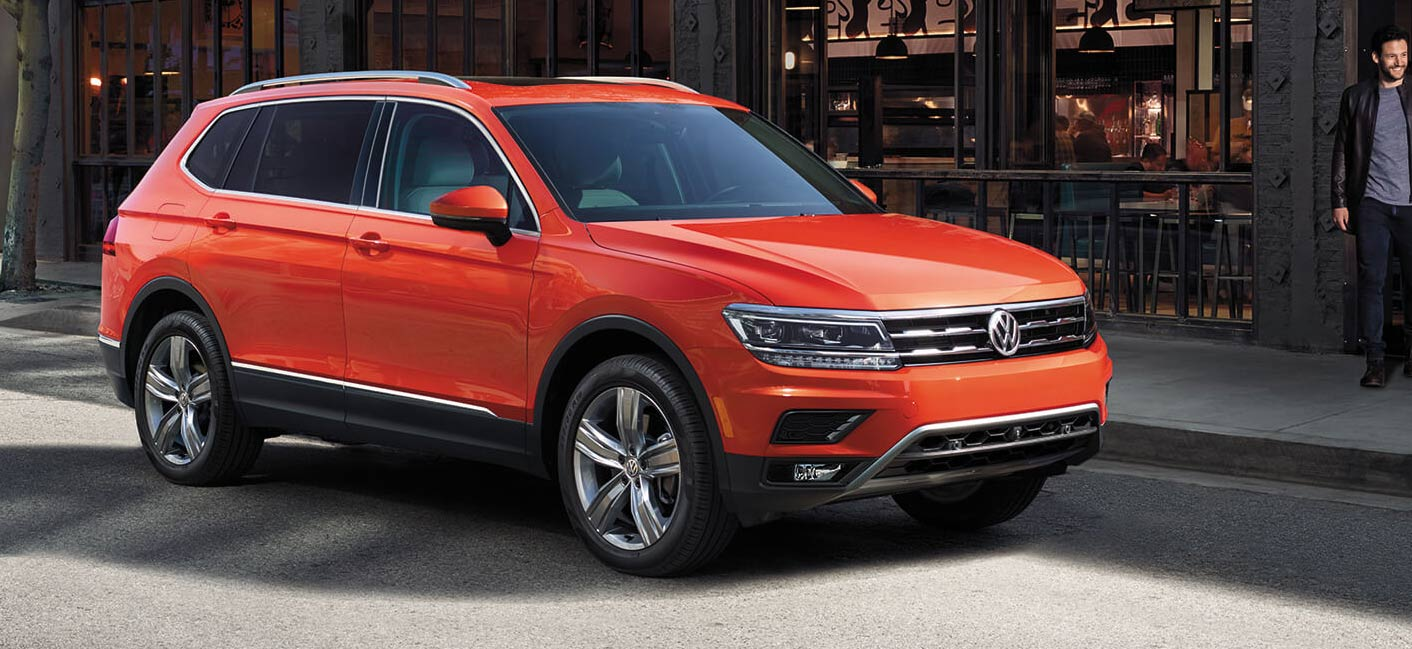 The 2019 Volkswagen Tiguan is available at our Tiguan dealership in Gainesville, FL.