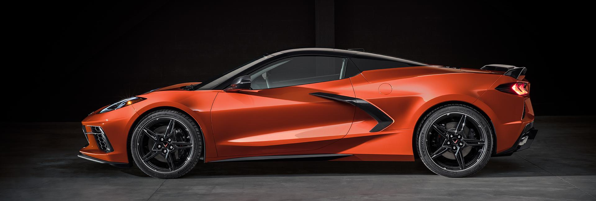 Exterior image of the 2020 Chevy Corvette